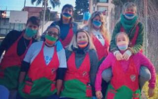 Las chicas de Viandas solidarias necesitan colaboraciones para poder continuar