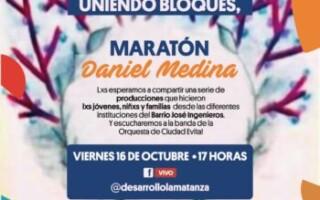 """Maratón on line """"Daniel Medina"""""""