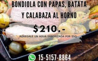 El club Huracán de San Justo ofrece menús diarios con productos de huerta orgánica