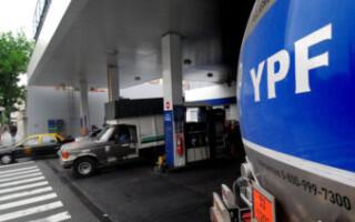 YPF oficializó el aumento de 3,5 por ciento en sus combustibles