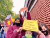 Docentes del Instituto French resisten el cierre