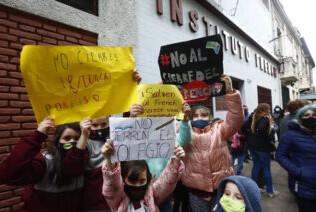 Instituto French: docentes piden que no matriculen a los alumnos en otros colegios