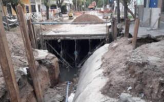 Ramos Mejía: reanudaron las obras hidráulicas en el arroyo Maldonado