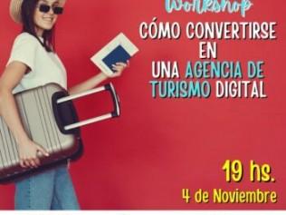 Workshop gratuito: Como convertirse en una Agencia de Turismo Digital