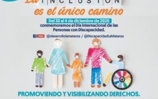 """Semana de actividades por el Día Internacional de las Personas con Discapacidad: """"La inclusión es el único camino"""""""