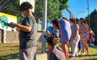Villa Luzuriaga: vecinos se organizaron para recuperar un predio abandonado