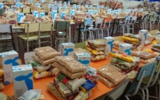 En La Matanza se siguen entregando los Módulos Alimentarios en las Escuelas durante todo el verano.