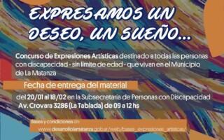 """Concurso de Expresiones Artísticas """"EXPRESAMOS UN DESEO, UN SUEÑO…"""""""