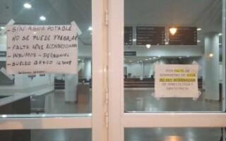 Hospital Teresa Germani: trabajadores denuncian falta de agua y que embarazadas están en salas con 37° de calor