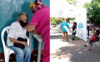 En primera persona: cómo es el procedimiento para la aplicación de la vacuna en el Distrito