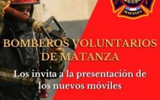 Los Bomberos Voluntarios invitan a la comunidad a celebrar por los nuevos equipos