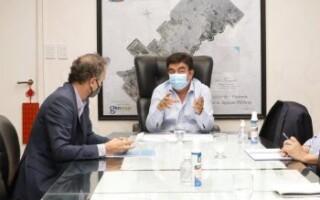El intendente de La Matanza hizo esa afirmación durante la reunión que mantuvo con el ministro de Obras Públicas de la Nación, Gabriel Katopodis.