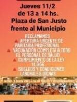 La APS convoca a una concentración frente al Municipio para reclamar paritarias