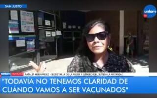 El SUTEBA La Matanza se movilizó hasta la sede del IOMA en San Justo para reiterar sus reclamos