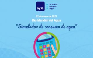 En el Día Mundial del Agua, lanzan una calculadora para medir el consumo