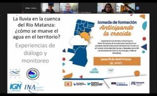 Investigadores del CONICET capacitaron sobre alerta temprana de inundaciones