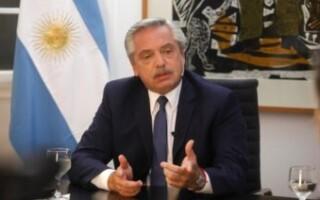"""El Presidente habló tras anunciar las nuevas medidas: """"No me importa una elección, sino que los argentinos no se mueran"""""""