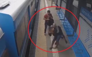 Pasajero detuvo a golpes a un arrebatador en la estación de trenes de Ramos Mejía