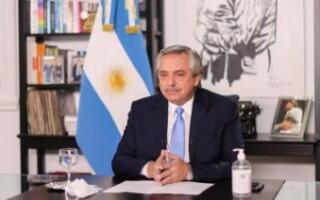 El Presidente suspendió las clases presenciales y anunció nuevas restricciones de actividades y circulación para el AMBA