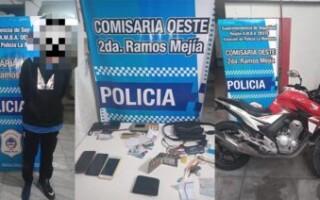 Tras una persecución, detuvieron a un arrebatador en Ramos Mejía