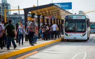 Fuerte merma de la cantidad de pasajeros del transporte público en el AMBA