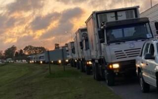 El Ministerio de Defensa trasladó su hospital móvil a La Matanza para ampliar su capacidad de atención
