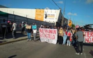 Toma en Rafael Castillo: tras otro operativo de corte de luz, un grupo de ocupantes se movilizó hasta el Municipio