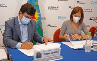 La Matanza firmó acuerdos con Desarrollo Social para ampliar la asistencia alimentaria en la pandemia