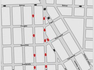 Comenzaron las tareas de señalización vial en todo el Distrito