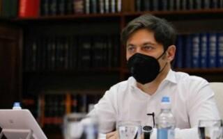 """Kicillof defendió la suspensión de las clases presenciales con un informe y pidió discutir """"en base a los datos"""""""