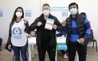 El Municipio de La Matanza superó las 400 mil dosis aplicadas.
