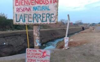 Interponen un recurso de amparo para preservar la Reserva Natural de Laferrere