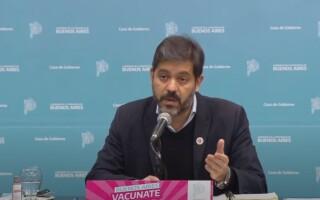 Bianco explicó por qué se retoma la presencialidad en el AMBA y aseguró que casi el 70 por ciento de los docentes está vacunado