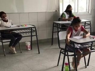 Después de 58 días, los chicos vuelven a las clases presenciales en La Matanza