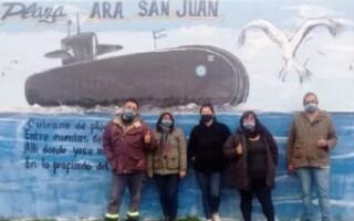 Personal de la Armada lanzó una campaña para colaborar con la plaza ARA San Juan de Virrey del Pino