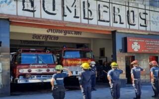 """""""Esta ley de fortalecimiento va a ayudar mucho"""", destacan desde Bomberos Voluntarios de La Matanza"""