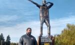 Un artista matancero que le rinde homenaje a Patricio Rey y sus Redonditos de Ricota