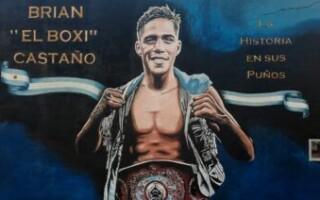 Se inauguró un mural de Brian Castaño en La Tablada