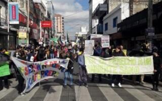 Con una marcha, vecinos reclamaron a las autoridades distritales oficializar la Reserva Natural de Laferrere