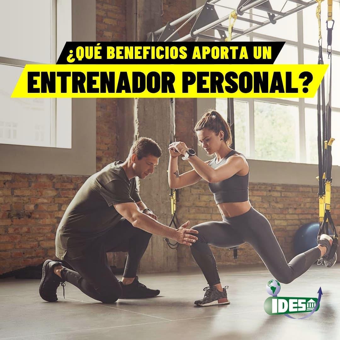 ¿Que beneficios aporta un Entrenador Personal?