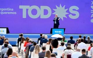 Alberto Fernández retomó la centralidad de la campaña y llamó a renovar la confianza en el Frente de Todos