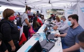 Se efectúan operativos para tramitar el DNI en Virrey del Pino