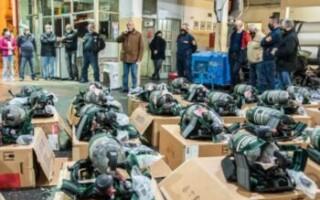 Continúan las mejoras de los Bomberos Voluntarios de Matanza: recibieron equipos de última tecnología
