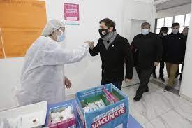 Kicillof anunció la vacunación libre para segundas dosis para los mayores de 60 años