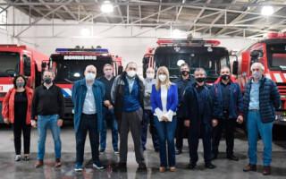 Magario refuerza la campaña en el Interior bonaerense de cara a las PASO